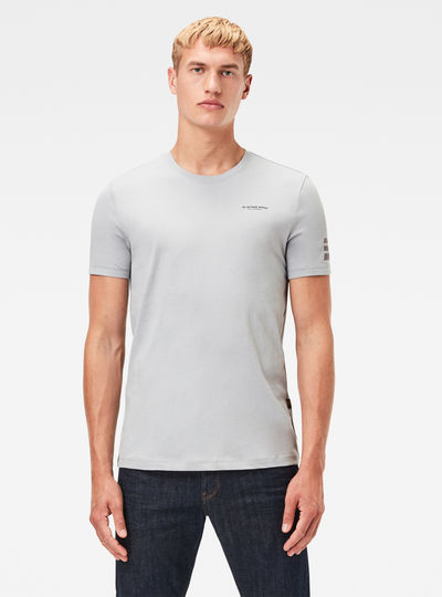 T-Shirt Text Graphic Slim