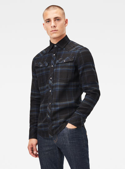 3301 Slim Shirt Check