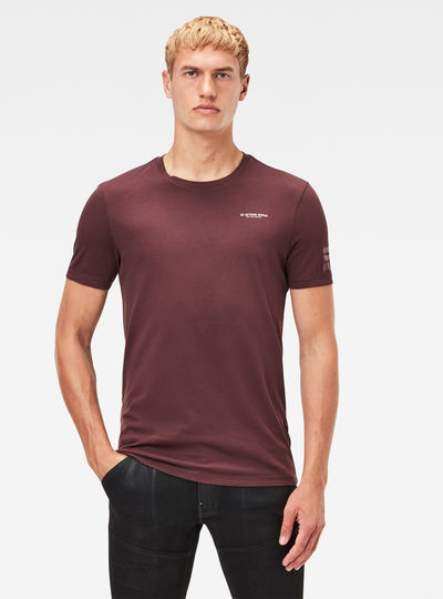 Text Graphic Slim T-Shirt