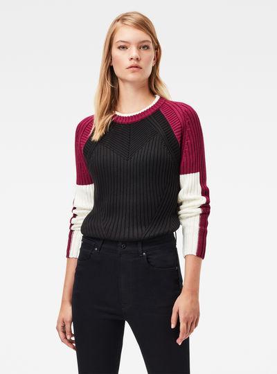Guzaki Knitted Pullover