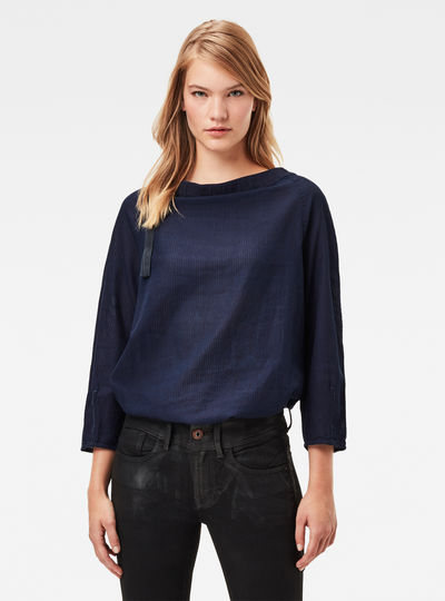 Top Gathered Neck