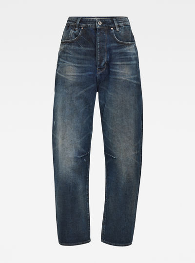 Jean C-Staq 3D High Boyfriend Crop