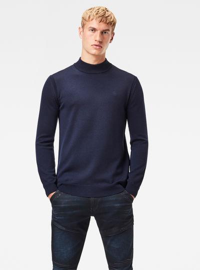 Premium Core Mock Knit Pullover