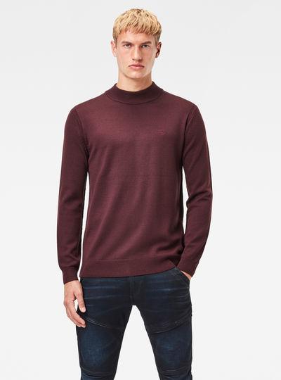 Premium Core Mock Knit