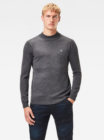 Premium Core Mock Knit