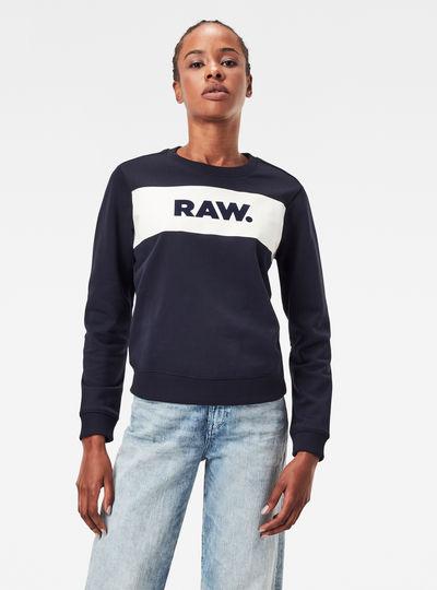 Xzula Panel Raw GR Sweater
