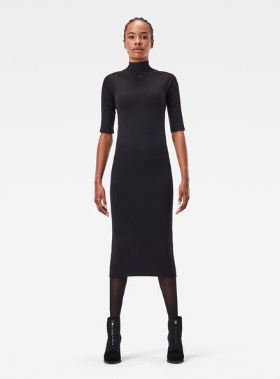 Mock Slim Dress