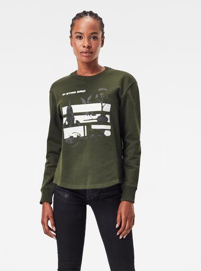 Graphic Thistle Xzyph Sweater