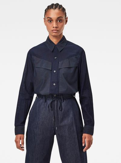 Regular Cargo Rib Shirt