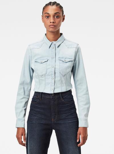 Denim Slim Shirt