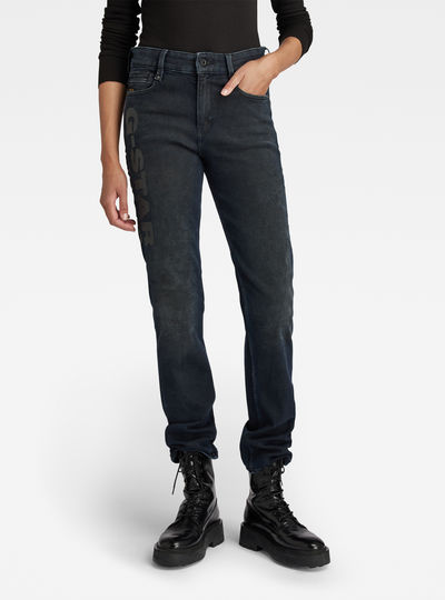 Noxer High Straight Artwork Jeans