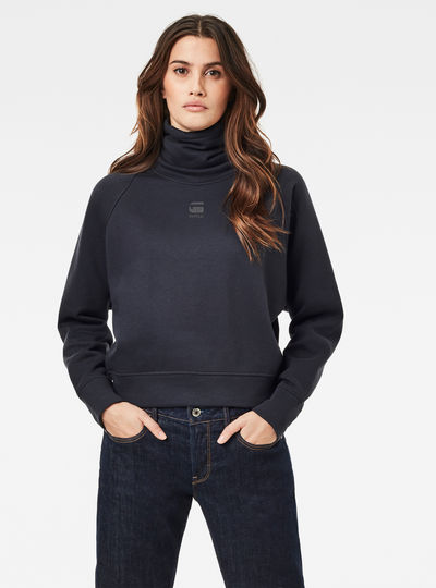 High Turtle Neck Loose Sweater