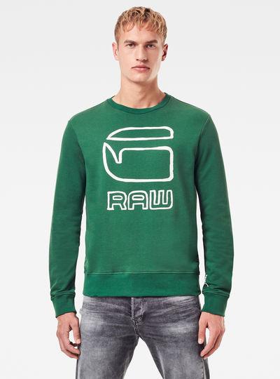 Graphic Graw Sweater