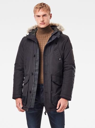 Parka Vodan Padded Hooded Faux Fur