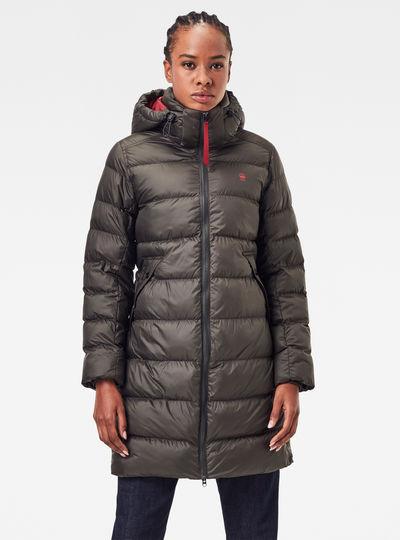 Whistler Hooded Slim Long Mantel