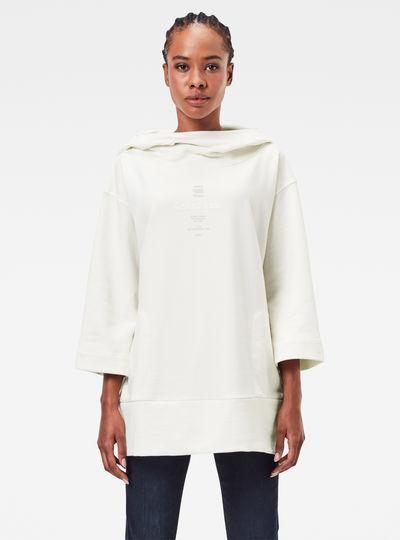 Oversized Cover Sweater Met Capuchon