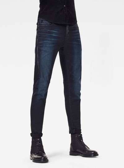 Citishield 3D Slim Merchant Navy Jeans