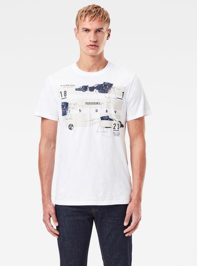 T-Shirt Running Dog Logo