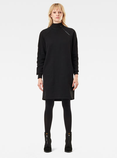Mock Boyfriend Sweat Dress