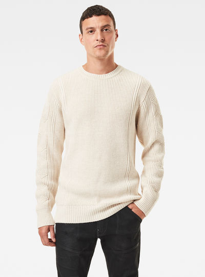 Constructed Woolen Knit