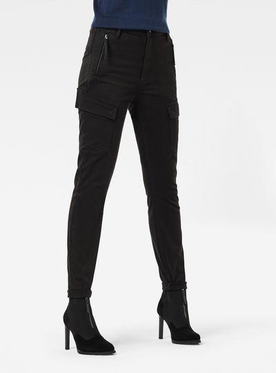 High G-Shape Cargo Skinny Pants