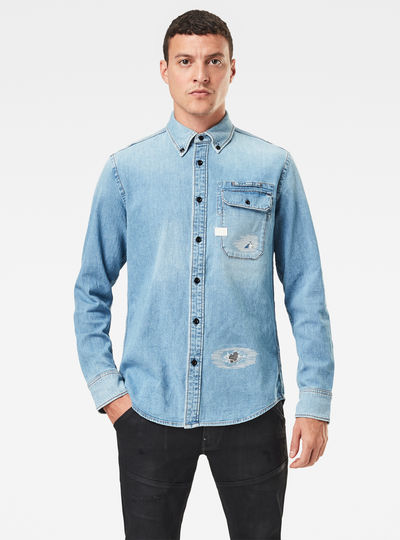 Bristum Button Down Slim Shirt