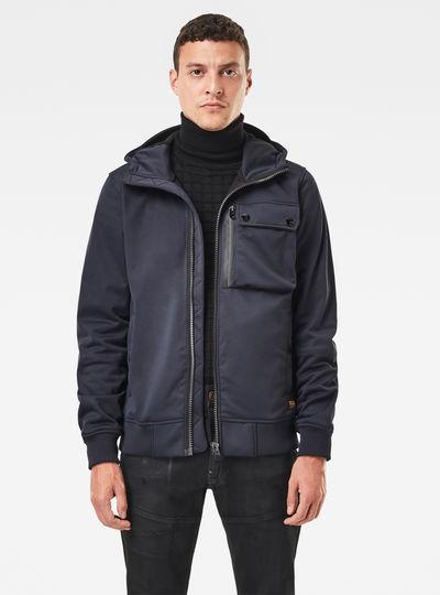 Utility Hooded Softshell Jacket