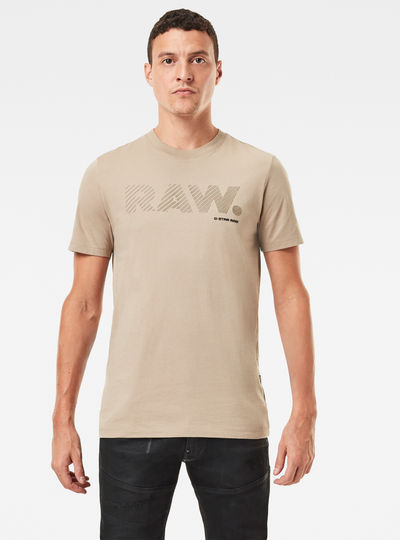 3D Raw. Logo Slim T-Shirt