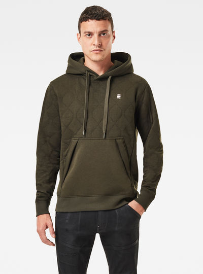 Utility Quilted Hoodie