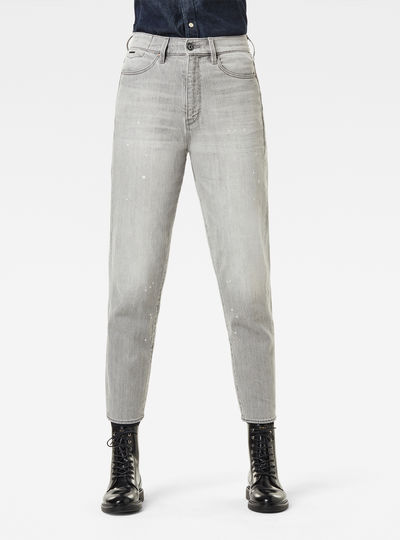 Janeh Ultra High Mom Ankle Jeans