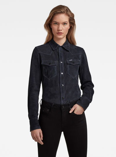 Western Kick Slim Shirt