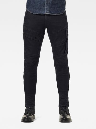 Airblaze 3D Skinny Originals Pitch Black Jeans
