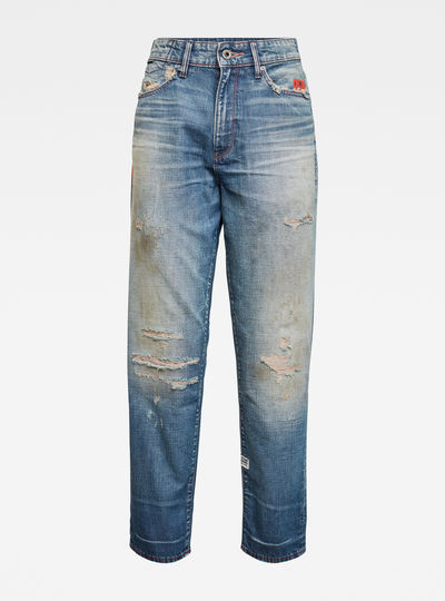 Jean E Janeh Ultra High Mom Ankle