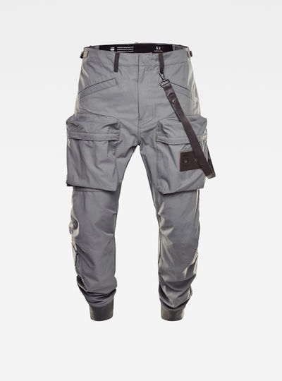 E Relaxed Tapered Cargo Pants