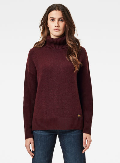 Addir Roll Loose Knitted Pullover