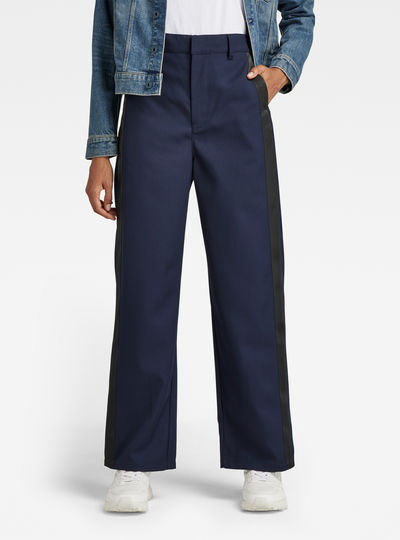 Wide Workwear Ultra High Pants