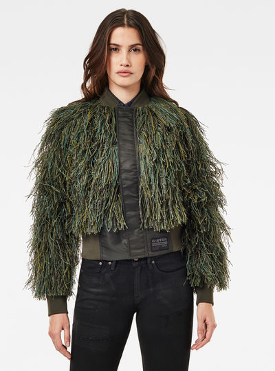 Gillie Suit Bomber Jacket