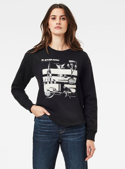 Graphic Thistle Xzyph Sweater