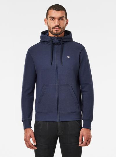 Hooded Zip Sweater