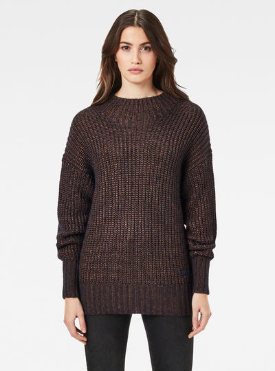 Viisi Mock Loose Knit