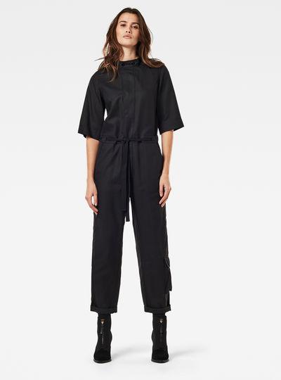 Shortsleeve Workwear Jumpsuit