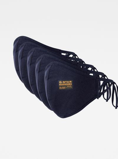 5-Pack RAW Facial Masks