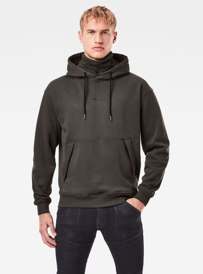 Funnel Hooded Sweater