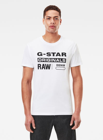 Raw. Graphic Slim T-Shirt