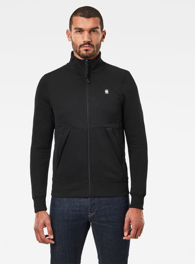 Utility Quilted Sweat Track Jacket