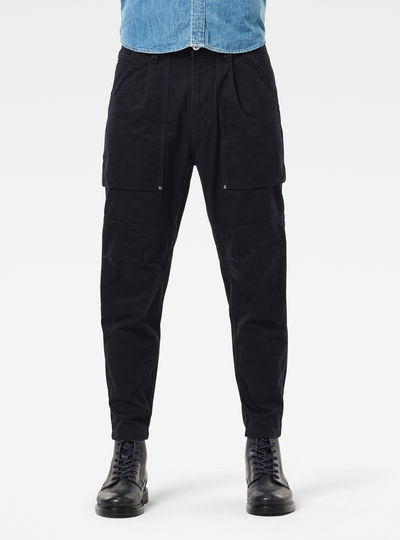 Pantalon Fatique Relaxed Tapered