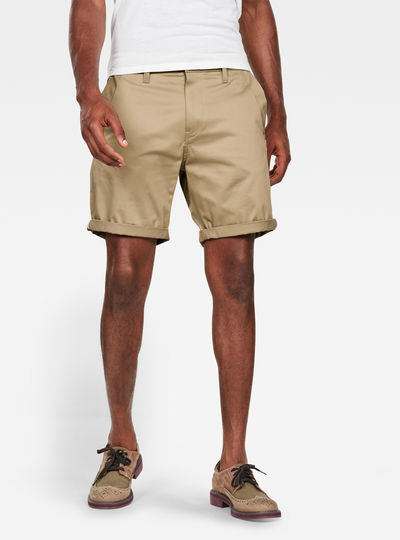 Bronson Straight Chino Shorts