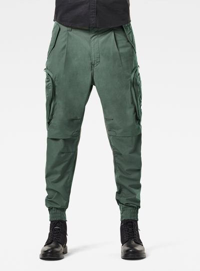 Flight Cargo Relaxed Tapered Cuffed Pants