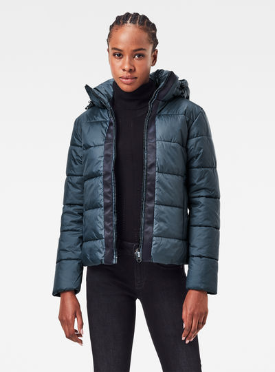 Meefic Hooded Padded Jacket