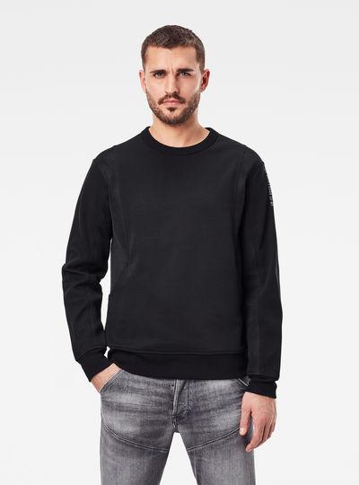 Moto Mesh Sweatshirt